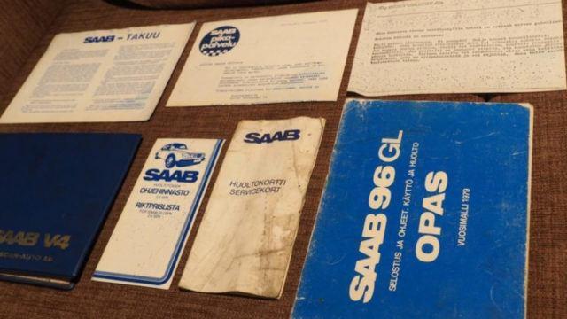 Tori.fi - Saab 96 dokumentaatio