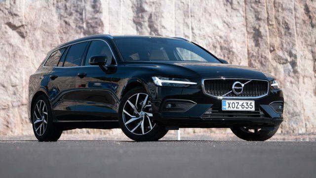 Koeajo: näppärämpi näköispainos – Volvo V60 D4 Business aut