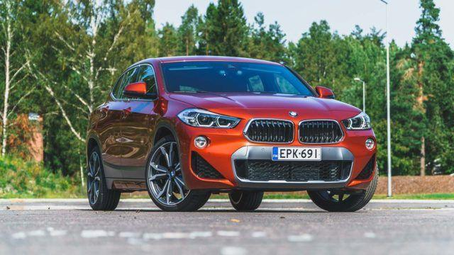 Koeajo: keskeltä korkea – BMW X2