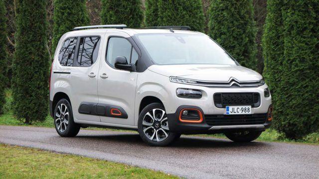 Koeajo: tila-auto perheauton hinnalla – Citroën Berlingo