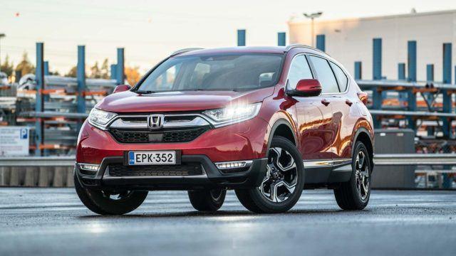 Koeajo: maailman suosituin uudistui – Honda CR-V