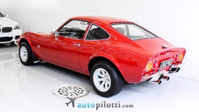 Opel GT 1900 takaviistosta - Tori.fi