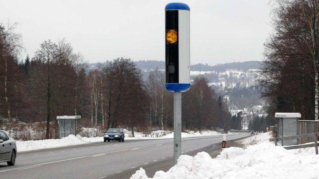 Tutkakameratolppa Ruotsissa