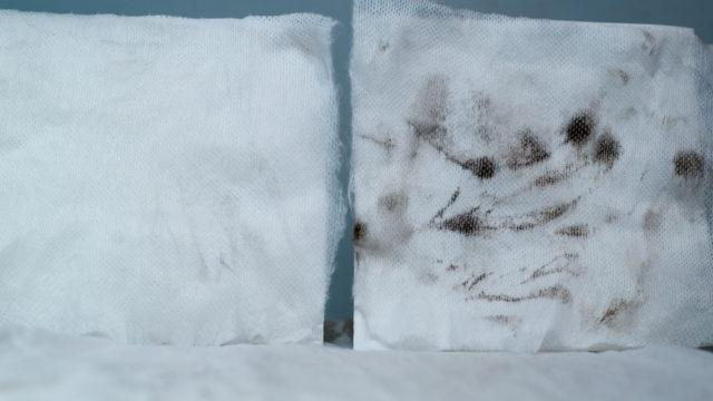 Pesutehon vertailu Auto-foam vs. Blizzard