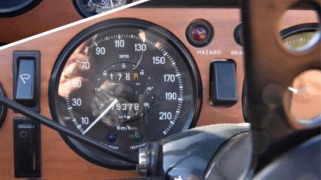 Triumph TR6 matkamittari - Tori.fi