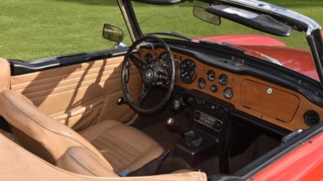 Triumph TR6 ohjaamo - Tori.fi
