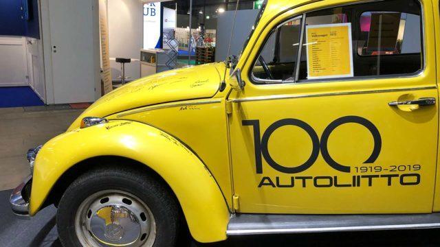 Autoliitto 100 Tarvitsen autoa