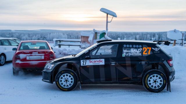 Arctic Lapland Rally Mika Salo