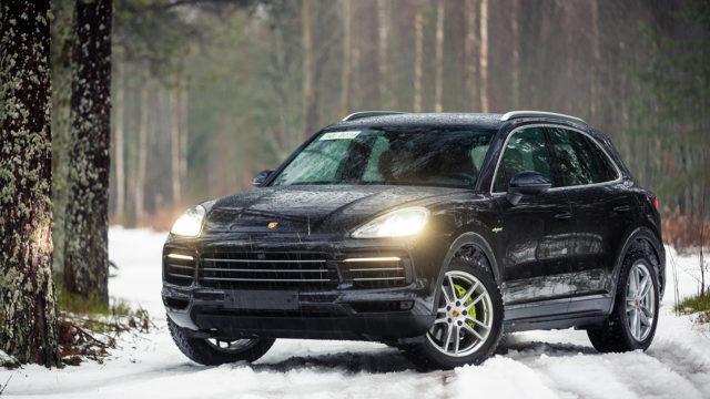 Koeajo: Porsche Cayenne E-Hybrid – Virallisesti vihreä