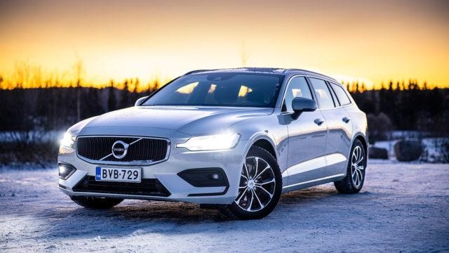 Koeajo: Volvo V60 D3 Aut Business – Nauvo Nuorgam Nonstop