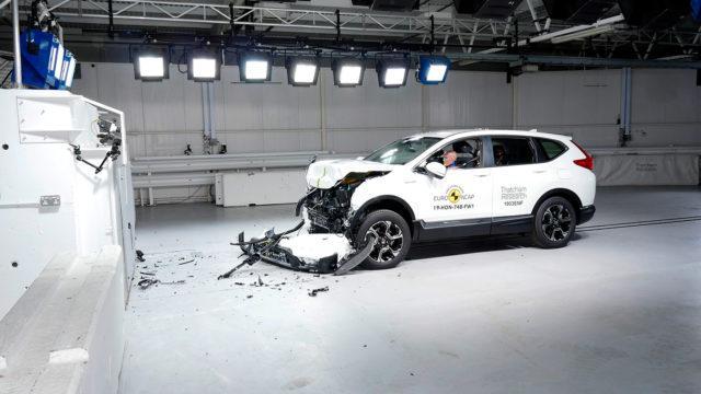 Euro NCAP Honda CR-V