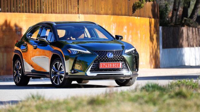 Maistiainen: Lexus UX – sisäänheittäjä