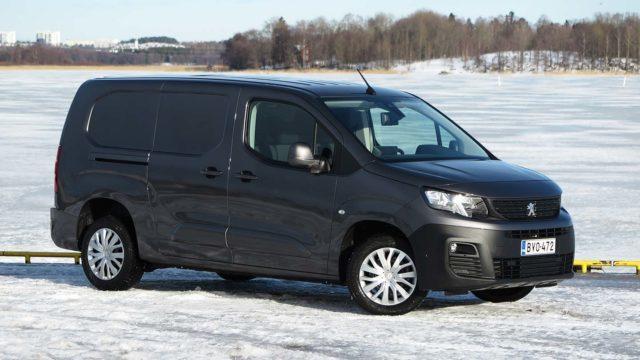 Koeajo: palkittu pikkupaku – Peugeot Partner