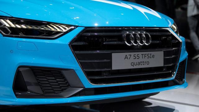 Audin hybridit A7 55 TFSI e