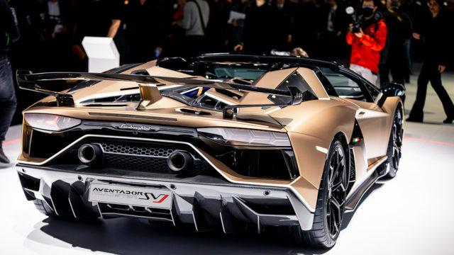 Geneve 2019 Lamborghini Aventador SVJ Roadster