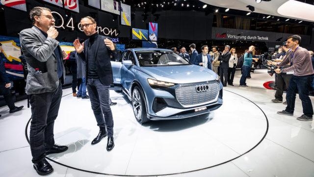 Geneve 2019 Audi Q4 e-tron