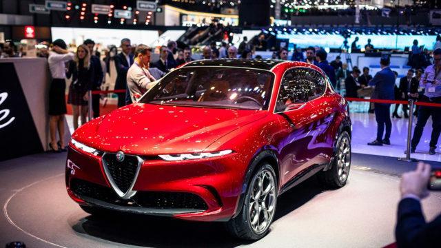 Geneve 2019 Alfa Romeo Tonale
