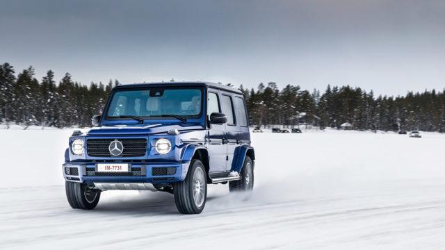 Aakkosten ääripäät jääradalla: Mercedes-Benz A 220 4Matic ja G 500