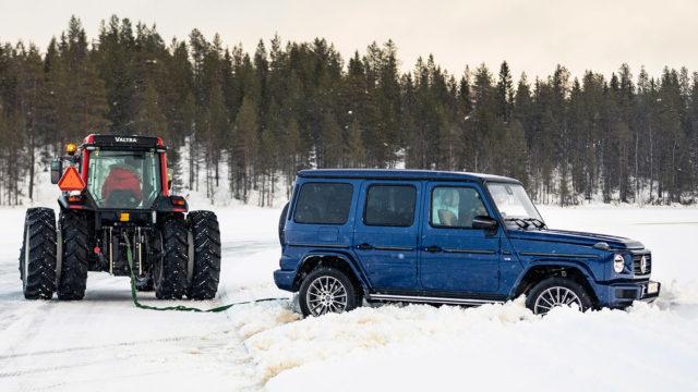 Mercedes-Benz jääradalla / G 500