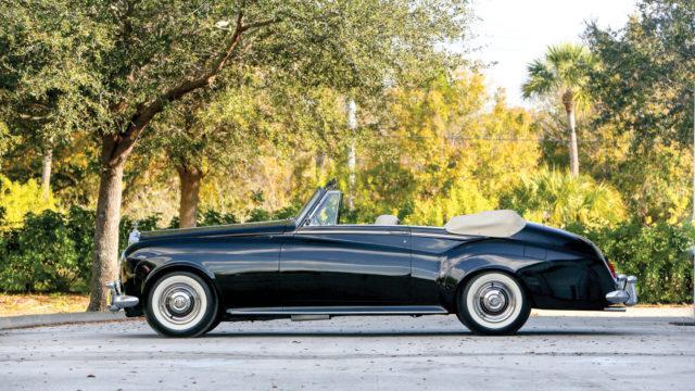 Rolls-Royce Silver Cloud III Drophead Coupe sivu - RM Sotheby's