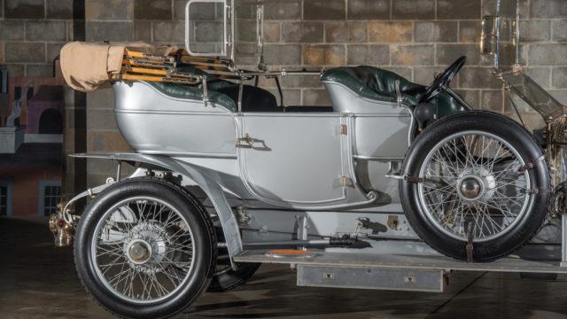 1909 Rolls-Royce 40/50 HP Silver Ghost Roi-des-Belges matkustamo