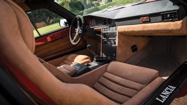 Lancia Delta S4 Stradale - ohjaamo