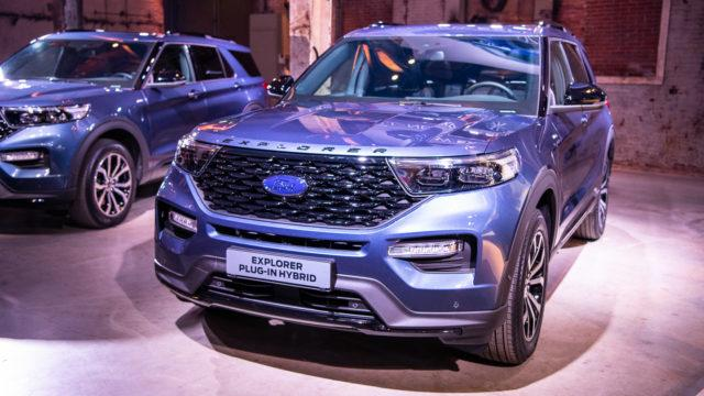 Ford Explorer PHEV hybrid Europe