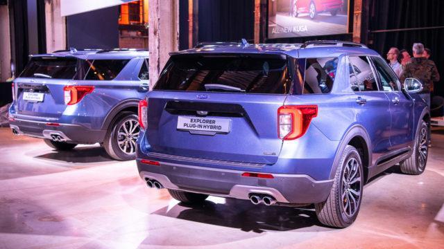 Ford Explorer PHEV hybrid Europe