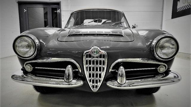 Alfa Romeo Spider >> Kaytetyt Erikoisuudet Alfa Romeo Giulia 1600 Spider