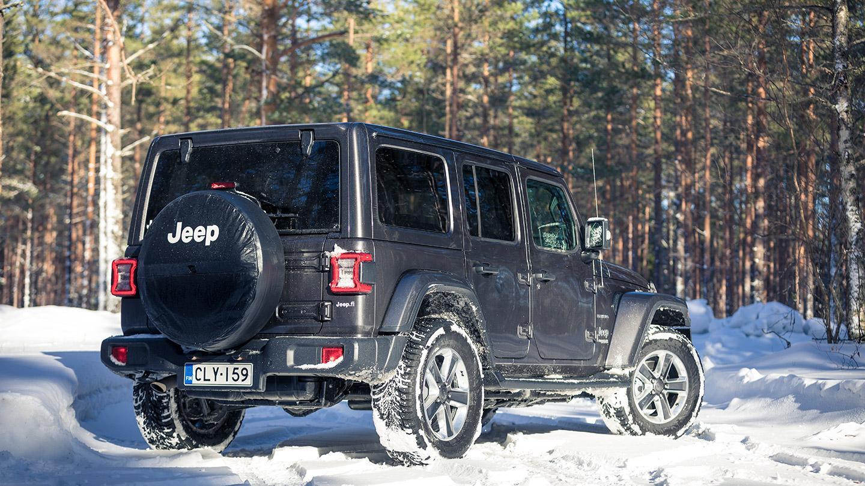 Jeep Wrangler Off Road >> Koeajo Jeep Wrangler Unlimited Maasturi Ei Katumaasturi