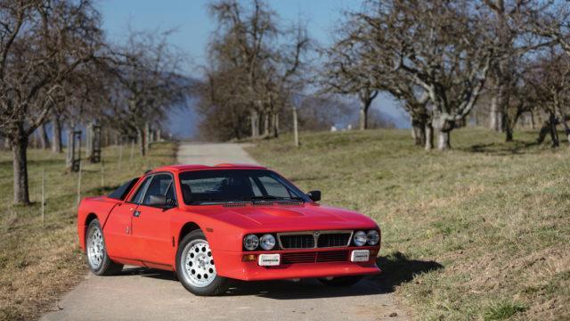 Lancia 037 edestä