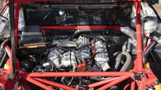 Lancia 037 taka-apurunko
