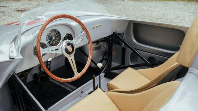 Porsche 550 A Spyder interior - RM Sotheby's