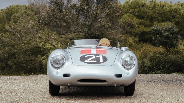 Porsche 550 A Spyder front - RM Sotheby's