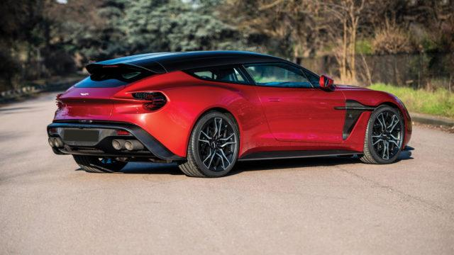 Aston Martin Zagato Shooting Brake takaa - RM Sotheby's