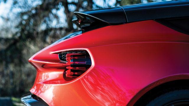 Aston Martin Zagato Shooting Brake takavalo - RM Sotheby's