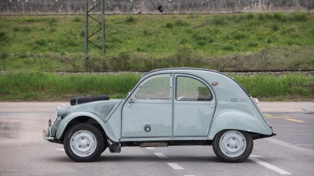 Citroën 2CV 4x4 Sahara side - Sotheby's