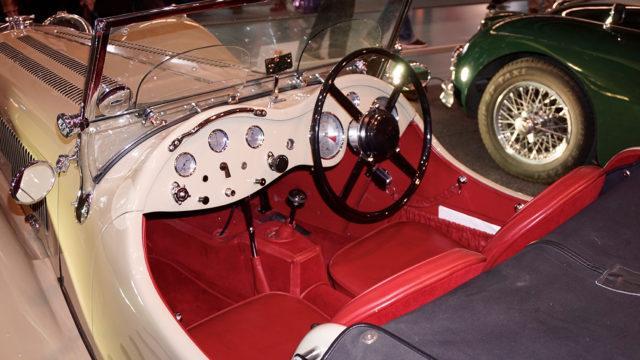 Classic Motorshow_Jaguar SS100