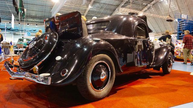 Classic Motorshow Citroen 11A Faux-Cabriolet