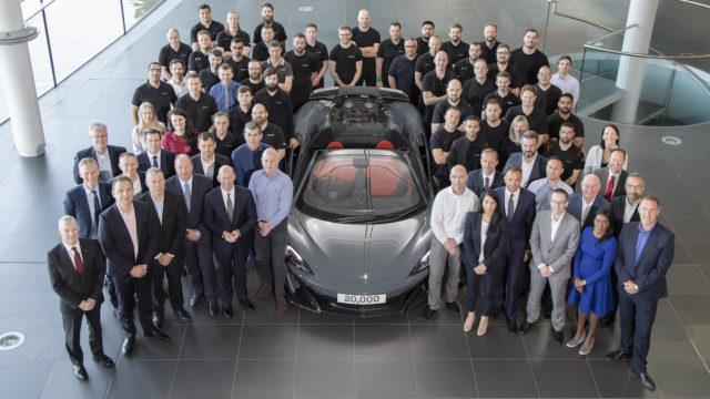 McLaren valmistusmäärä