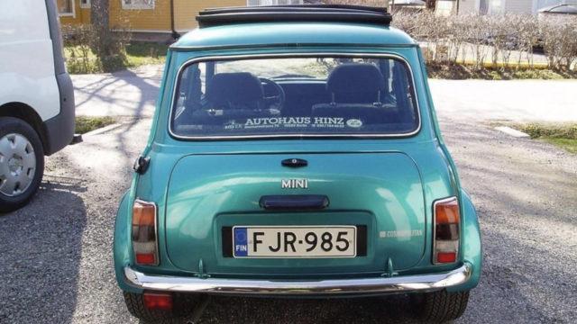 Mini Cooper takaa - Tori.fi