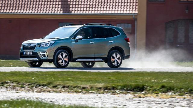 Koeajo: Subaru Forester e-Boxer – omilla poluillaan