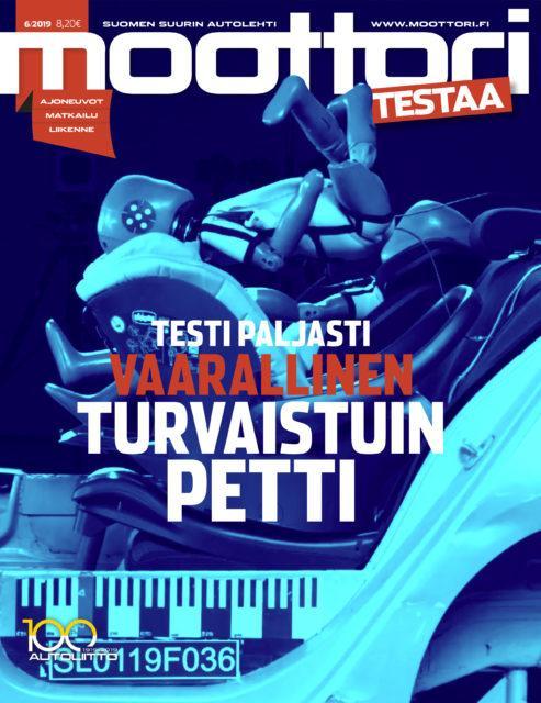 Moottori kansi 6/2019