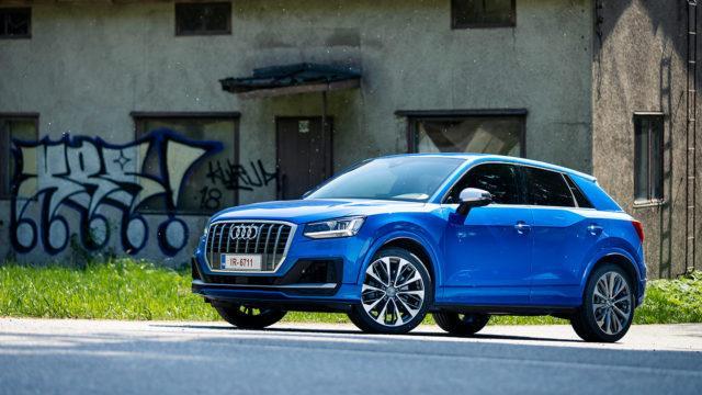 ensivaikutelmia autoista / Audi SQ2