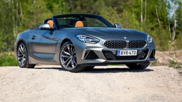 ensivaikutelmia autoista / BMW Z4 M40i