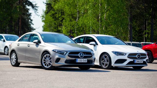 ensivaikutelmia autoista / Mercedes-Benz A200 Sedan CLA 200