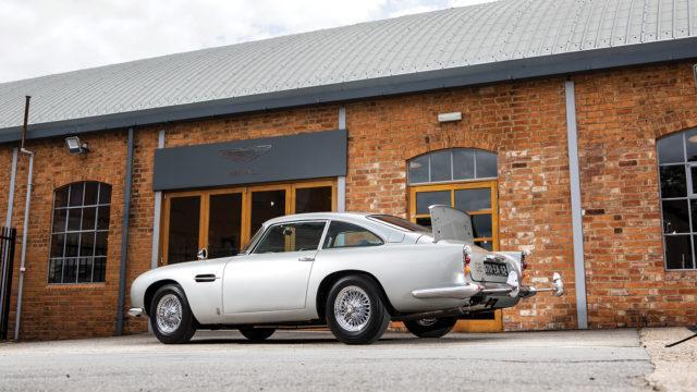 "Aston Martin DB5 ""Bond"" rear - RM Sotheby's"