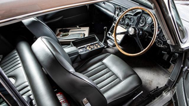 "Aston Martin DB5 ""Bond"" interior - RM Sotheby's"