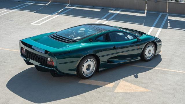 Jaguar XJ220 rear q - RM Sotheby's