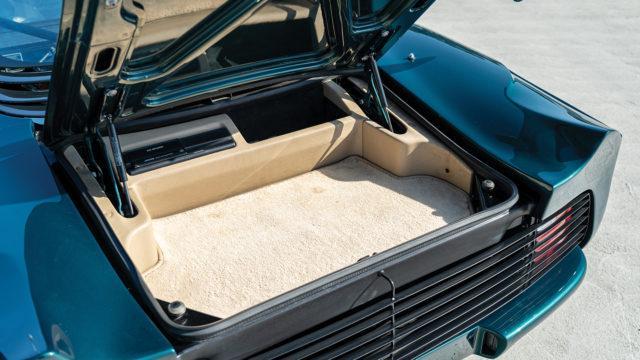 Jaguar XJ220 trunk - RM Sotheby's